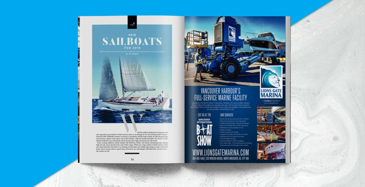 Pacific Yachting magazine